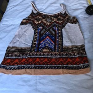Forever 21 cute print camisoles-s